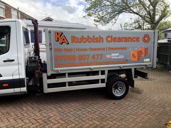 We clear most household, commercial and green waste